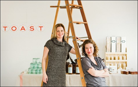 Heather Sittig and Kristen Policy of Toast