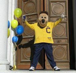 Oski, the Bears mascot