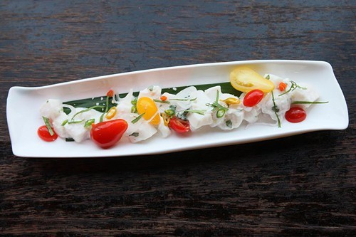 Chef Tim Luyms kinilaw, or Filipino-style ceviche (via Facebook)