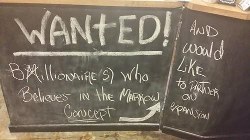 Wanted: millionaire(s) (via Facebook).