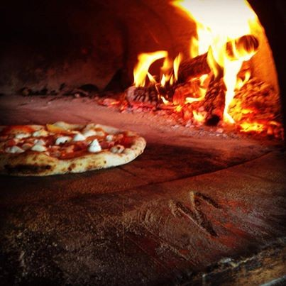 Firing up a pizza at The Forge (via Facebook)