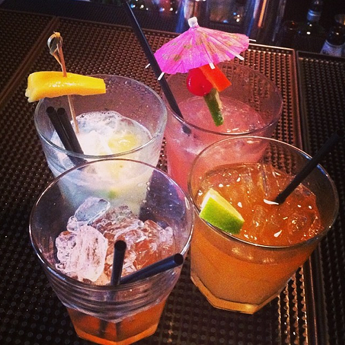 Tiki cocktails at Hawker Fare (via Instagram, @jamessyhabout))