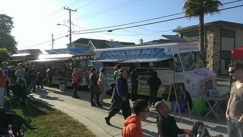Karen Hesters other food truck event, Bites Off Broadway (via Facebook)