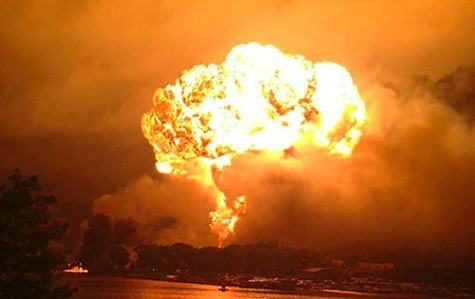 A train carrying Bakken crude exploded and killed 47 people last year.
