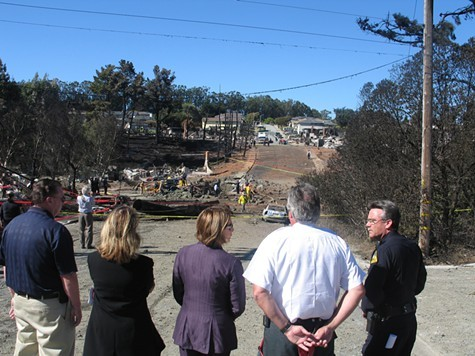 The 2010 pipeline blast in San Bruno killed eight people.
