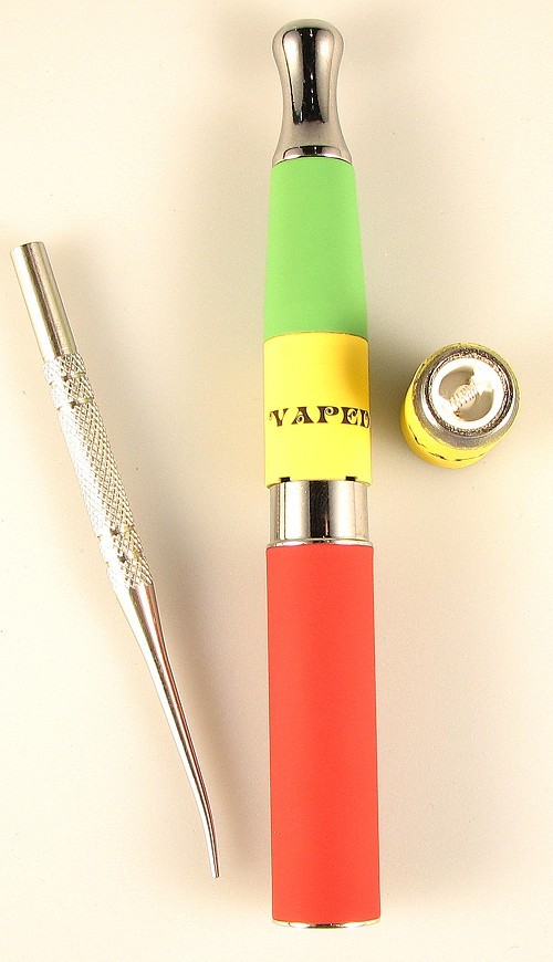 A micro-Vaped V2 e-cigarette for cannabis wax
