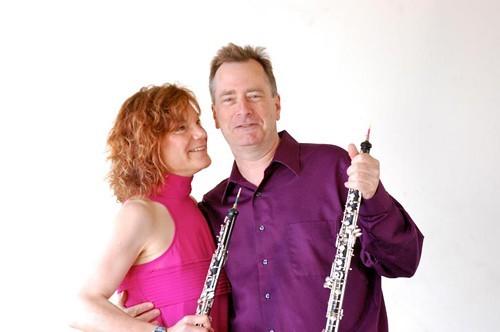 Andrea Plesnarski and Tom Nugent, oboist-winemakers