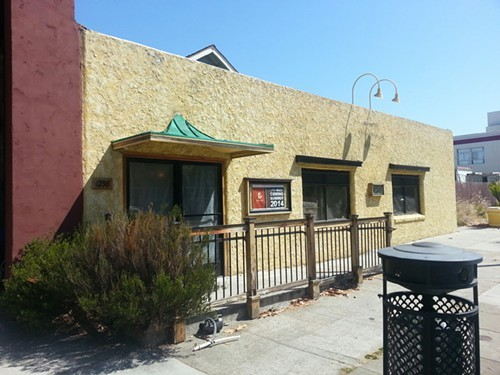 The former Cafe Aquarius space