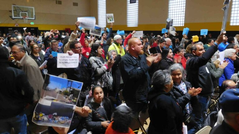 Oakland's Flatlands Residents Grill Mayor and City Council Over Illegal Dumping
