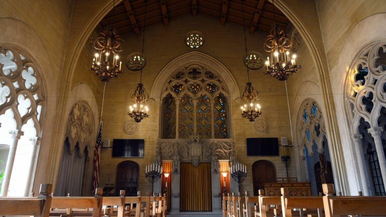 The Changing Sound of the Chapel of the Chimes