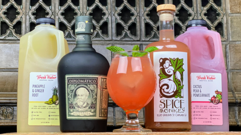 Spice Monkey/Howden Market Launch Curbside Cocktails-to-Go