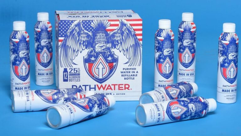 Fremont-Based Pathwater Debuts New Bottle Benefiting Frontline Workers