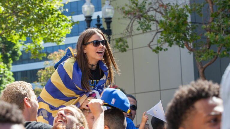 Warriors Parade Draws Massive Crowd
