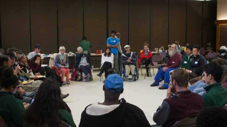 Berkeley Town Hall Meeting Gives Voice to the Homeless