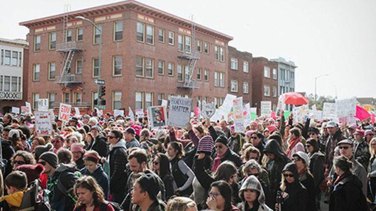Fump Truck: The Women's March in Oakland Felt Like A New Beginning