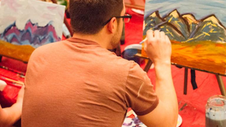 Puff, Pass, Paint Offers Marijuana-Friendly Art Classes