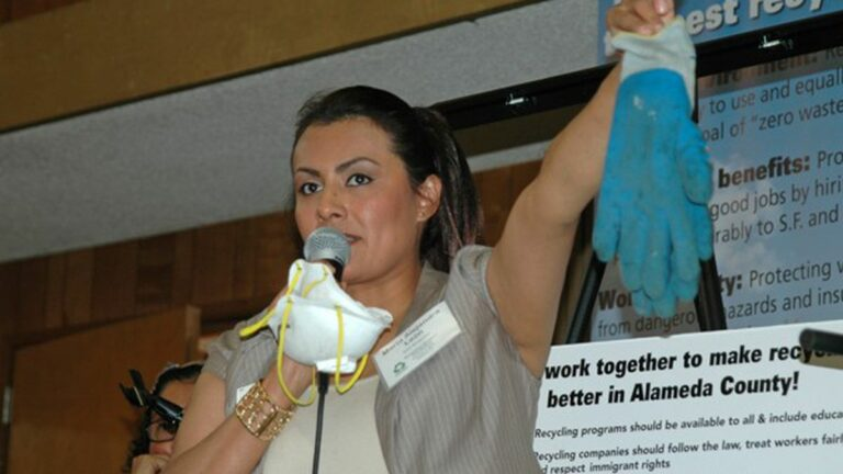 Recycling Workers Fight Back