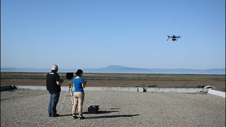 An Environmental Use for Drones