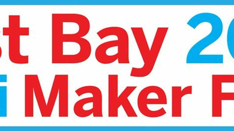 THIS WEEKEND: East Bay Mini Maker Faire