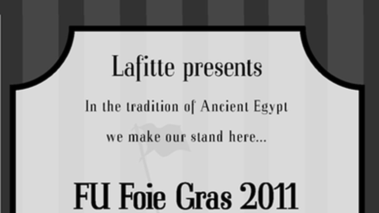 Farewell to Foie Gras
