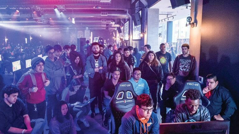 A New Esports Arena Brings the World of Competitive Video Games to Oakland