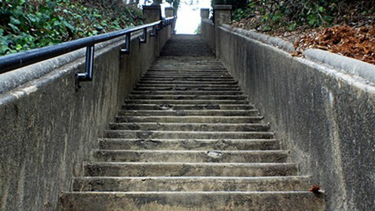 Secret Staircases to the Past