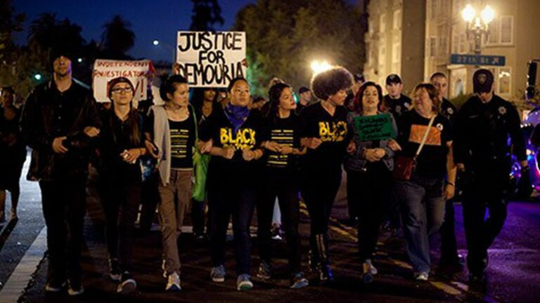 The Growth of Black Lives Matter