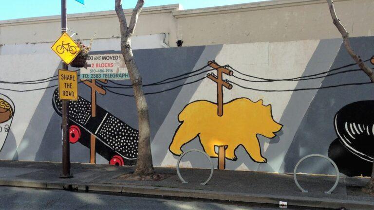 Behind Berkeley's Big New Mural on Telegraph Avenue