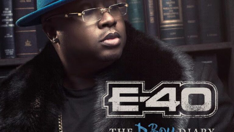 E-40 Announces His 42-Track, Two-Part Album, The D-Boy Diary