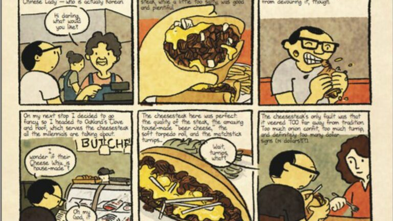 'I Like Eating': Democracy and Philly Cheesesteaks