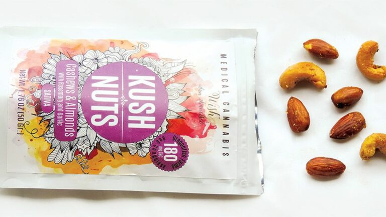 Cannabis Almonds and Cashews By S.F.-Based Wish Show That Edibles Can Also Be Very Tasty