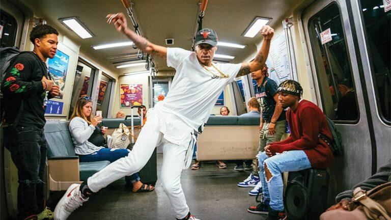 The Complex Hustle of Oakland's BART Dancers