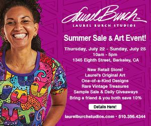 summer art sales in berkeley california