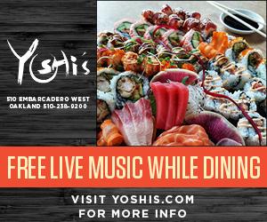 dining restaurants live music in oakland california