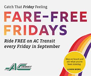 free transit fridays oakland california