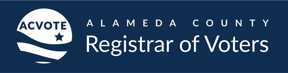 alameda county registrar of voters logo