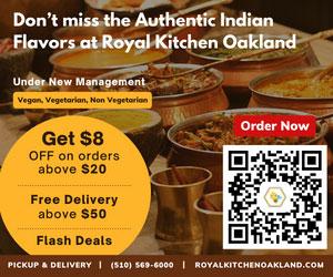 royal kitchen oakland, order indian food online