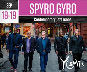 yoshis spyro gyro live jazz music oakland california